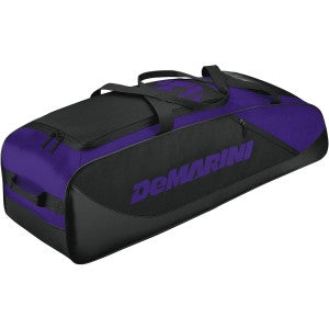 Wilson DeMarini D-Team Duffle Baseball/Softball Bat Bag - Purple