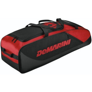 Wilson DeMarini D-Team Duffle Baseball/Softball Bat Bag - Scarlet