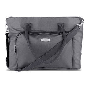 Professional Ladies Laptop Tote for 15.4 Laptops, Gray, LT201G