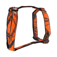 Mossy Oak Basic Dog Harness, Orange, X-Large - 24857-09