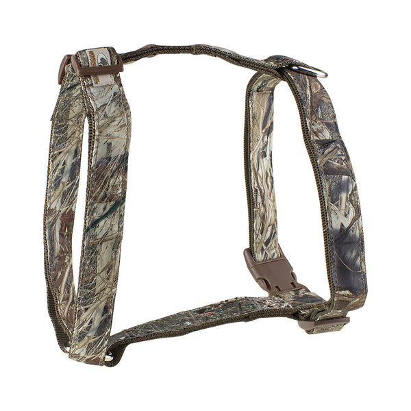 Mossy Oak Basic Dog Harness, Duck Blind, Large - 23857-05