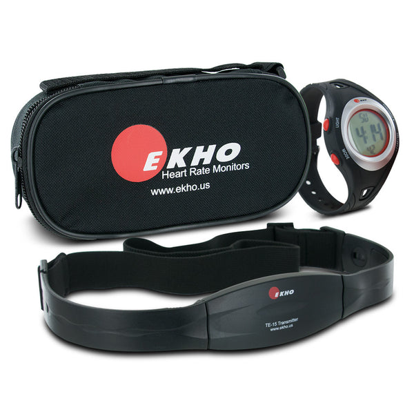 EKHO FiT 9 Women's Heart Rate Monitor & Watch with Chest Strap
