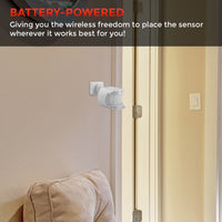 Wireless Motion Sensor with Outlet Receiver