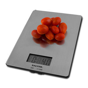 Taylor Ultra-Slim Stainless Steel Electronic Digital Kitchen Scale