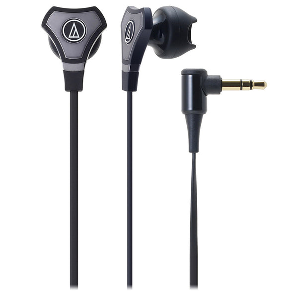 Audio Technica ATH-CHX5 SonicFuel Hybrid Earbud In-Ear Headphones, Black