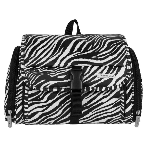 Travelon Hanging Toiletry Kit, Zebra