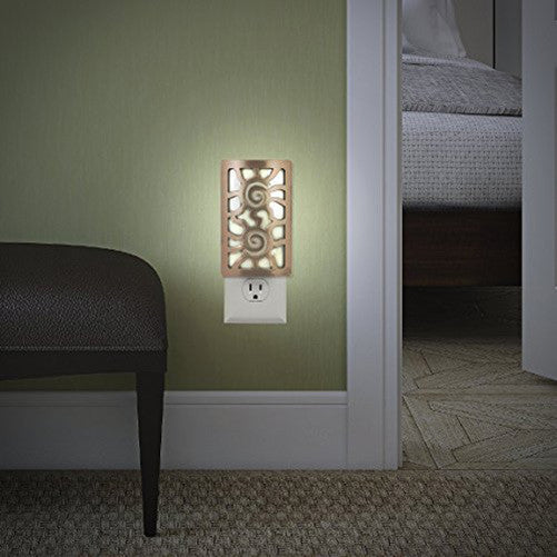 GE LED Light-Sensing Coverlite (Aztec Sun Bronze)