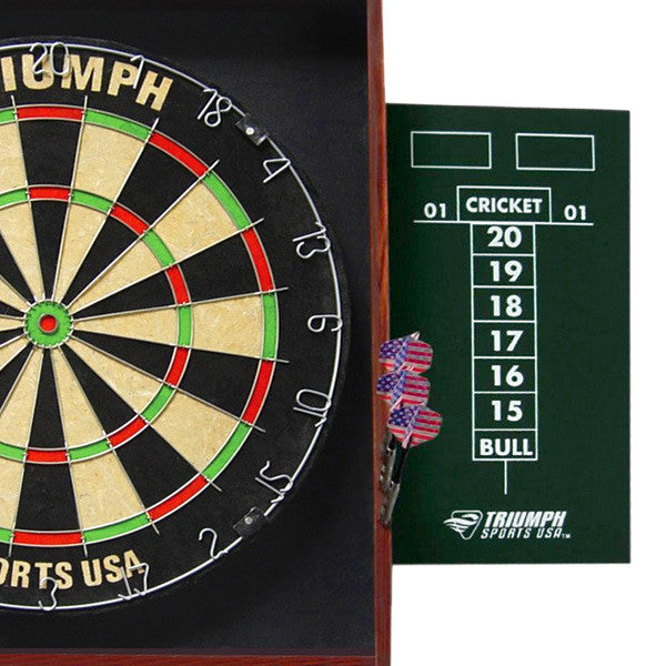 Triumph Sports Deluxe Backboard Combo Unit Dartboard, 18-2005