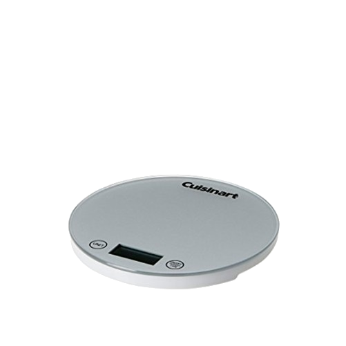 Cuisinart DigiPad Digital Kitchen Scale, Silver