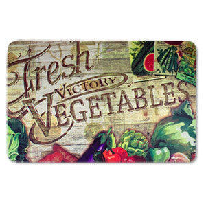 Anti Fatigue Kitchen Floor Mat, Fresh Vegetables (18x30)