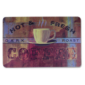Anti Fatigue Kitchen Floor Mat, Fresh Coffee (18x30)