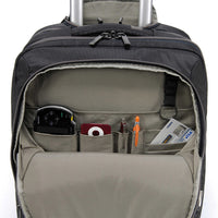 Tucano Work-Out Expanded Trolley Carry On Case, Midnight, BEWOTR-M