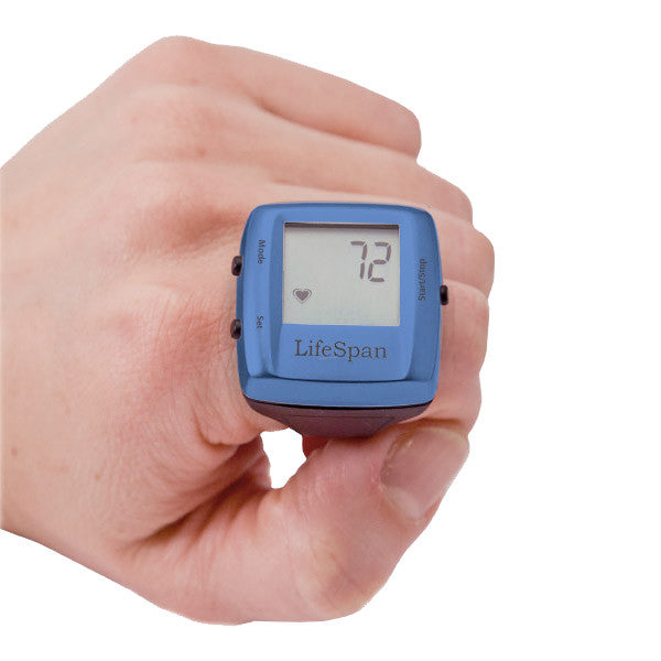 LifeSpan My Beat Heart Rate Ring, Blue