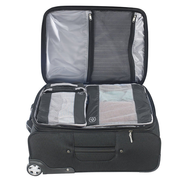 Uncharted Ultra-Lite Packing Cube 3 Piece Set, Charcoal Gray