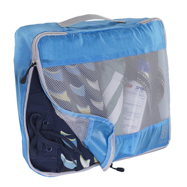 Uncharted Ultra-Lite Packing Cube 3 Piece Set, Electric Blue