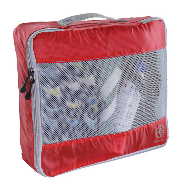 Uncharted Ultra-Lite Packing Cube 3 Piece Set, Cherry, UF42
