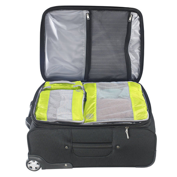 Uncharted Ultra-Lite Packing Cube 3 Piece Set, Neon Yellow