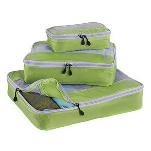 Uncharted Ultra-Lite Packing Cube 3 Piece Set, Green