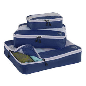 Uncharted Ultra-Lite Packing Cube 3 Piece Set, Navy