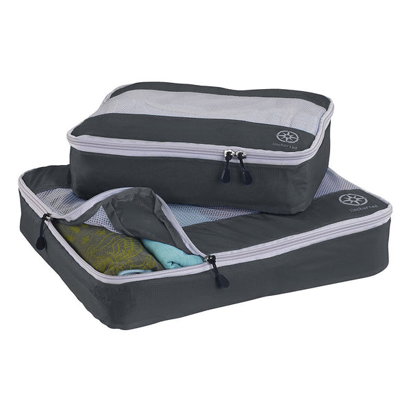 Uncharted Ultra-Lite Packing Cube 2 Piece Set, Charcoal Grey