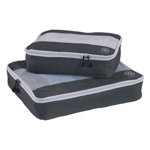 Uncharted Ultra-Lite Packing Cube 2 Piece Set, Charcoal Grey, UF50