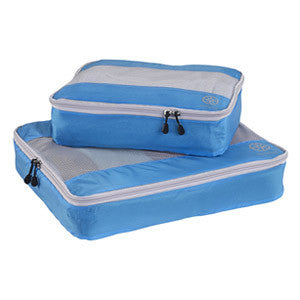 Uncharted Ultra-Lite Packing Cube 2 Piece Set, Electric Blue