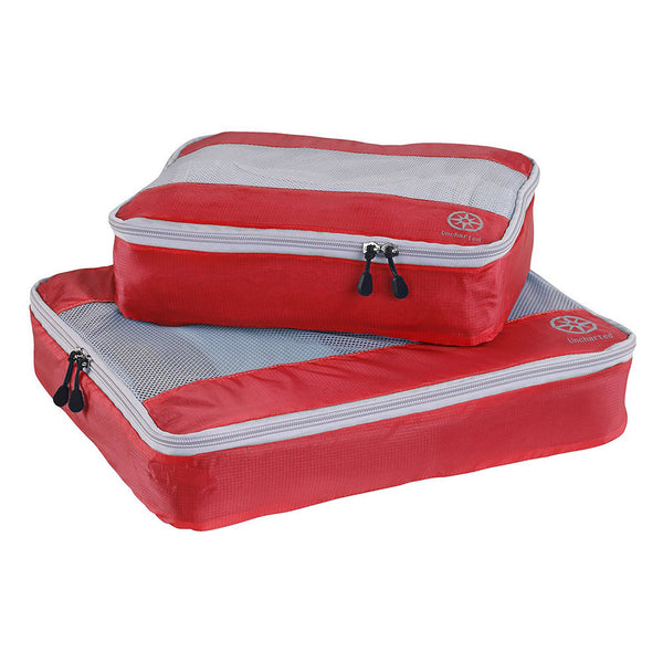 Uncharted Ultra-Lite Packing Cube 2 Piece Set, Cherry