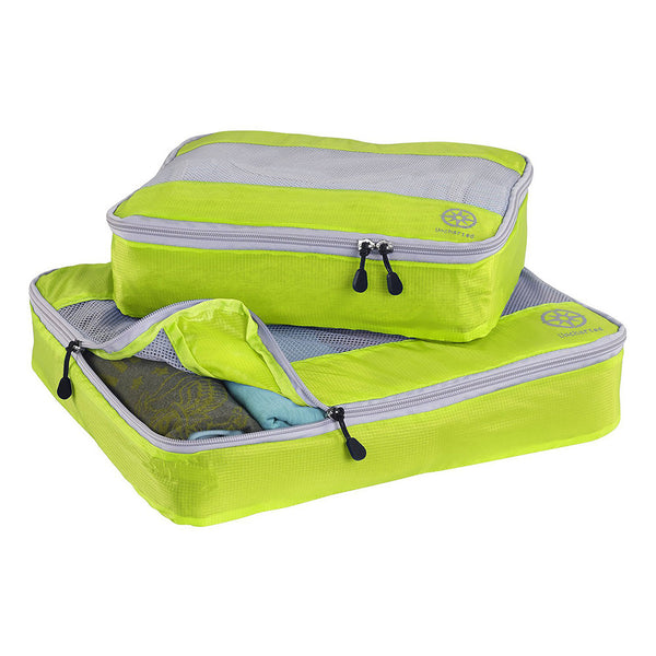 Uncharted Ultra-Lite Packing Cube 2 Piece Set, Neon Yellow, UF53