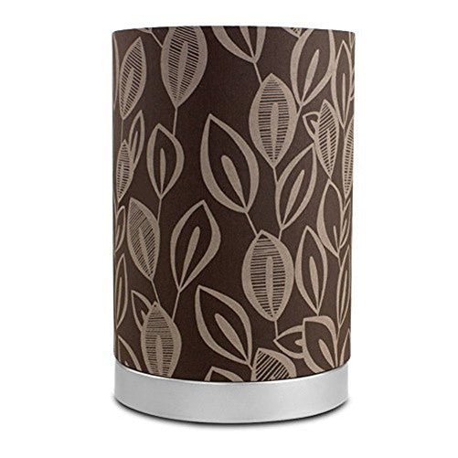 Mainstays Leaf Fabric Uplight Lamp with Light Bulb - 18294-001