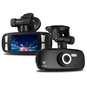 WickedHD G1W 1080P Car Dashcam & DVR Black Box with 8GB SD CARD