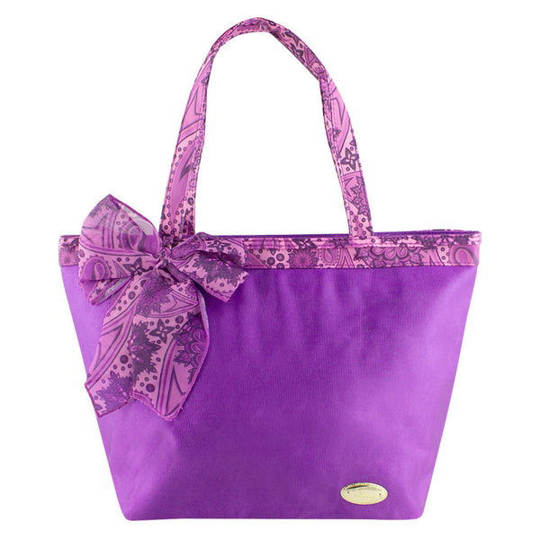 Jacki Design Summer Bliss Beach Tote Bag, Purple