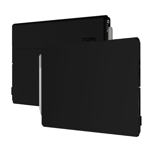 Incipio Faraday Leather Case for Surface Pro and Surface Pro 4 - Black, Open Box, MRSF-100-BLK