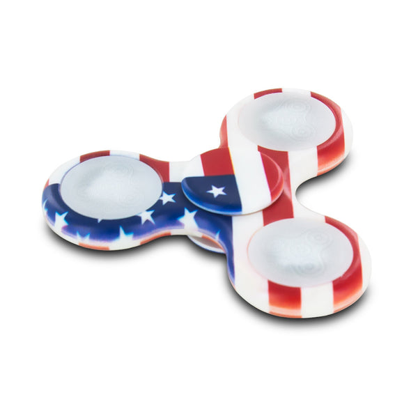 Stress Relieving Fidget Spinner - American Flag
