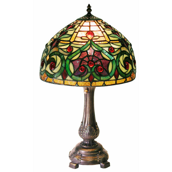 Tiffany-style Decorative Table Lamp - 1669+MB163
