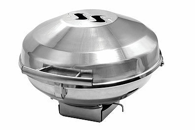 Kuuma Charcoal Kettle Grill - 175 Surface - Stainless Steel, 58103