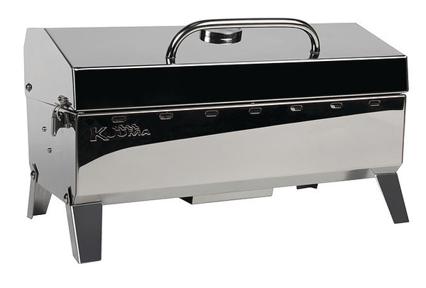 Kuuma Stow N Go 160 Gas Grill - 13,000BTU w/Regulator, Thermometer and Igniter