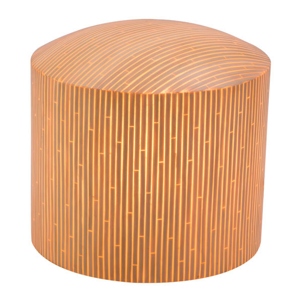 Wassu Illuminated Stool Natural - 56042