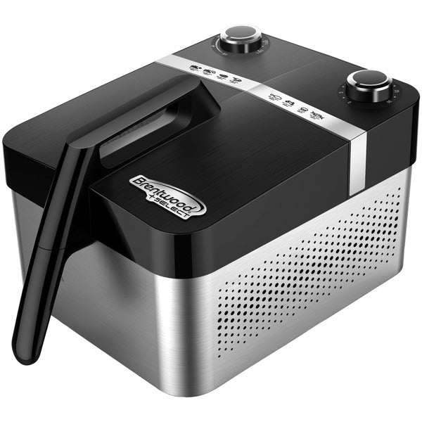 Brentwood Appliances 3.4-Quart Horizontal Rapid Electric Air Fryer, AF-32SS