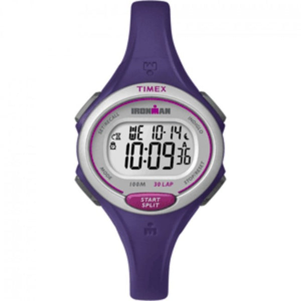 Timex Ironman Essential 30-Lap Watch - Purple, TW5K90100