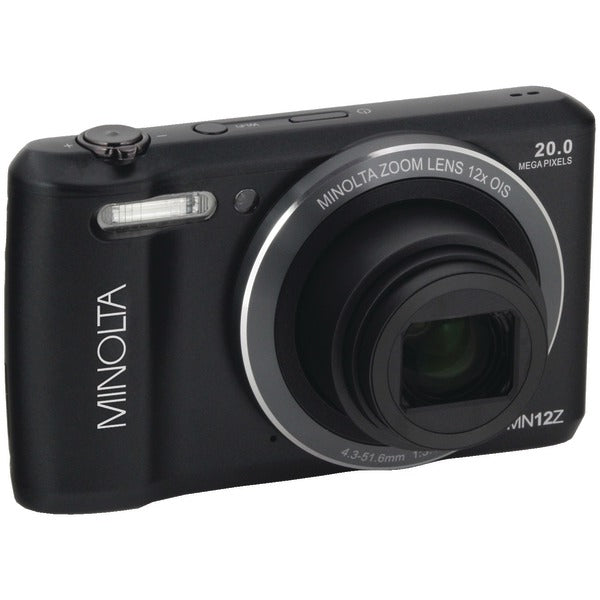 Minolta  20.0-Megapixel HD Wi-Fi® Digital Camera (Black), MN12Z-BK