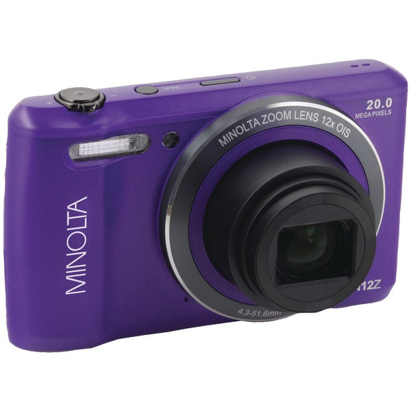 Minolta  20.0-Megapixel HD Wi-Fi® Digital Camera (Purple), MN12Z-P
