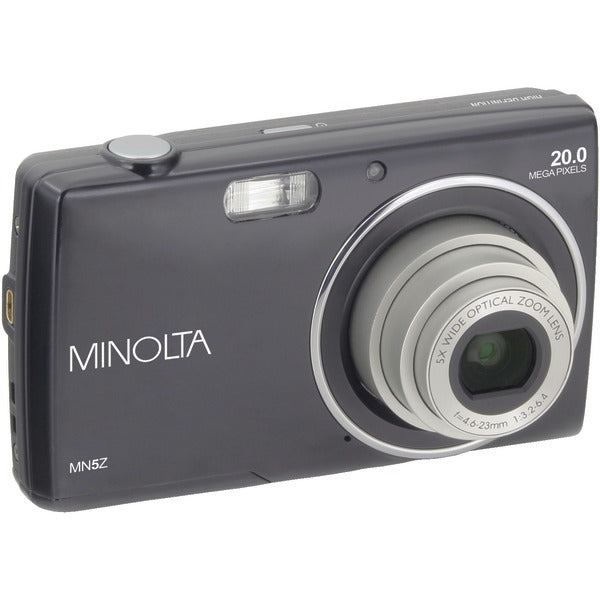 Minolta  20.0-Megapixel HD Digital Camera with 5x Zoom (Black), MN5Z-BK