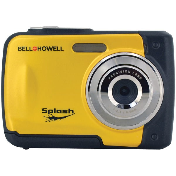 Bell+Howell® 12.0-Megapixel WP10 Splash Waterproof Digital Camera (Yellow) WP10-Y