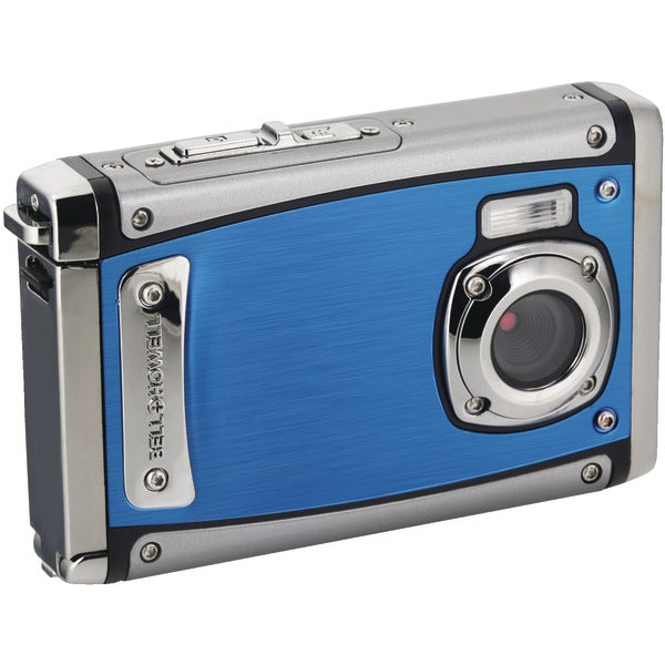 Bell+Howell® 20.0-Megapixel 1080p HD WP20 Splash3 Underwater Digital Camera (Blue) WP20-BL