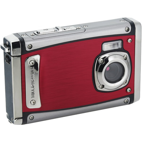 Bell+Howell® 20.0-Megapixel 1080p HD WP20 Splash3 Underwater Digital Camera (Red) WP20-R