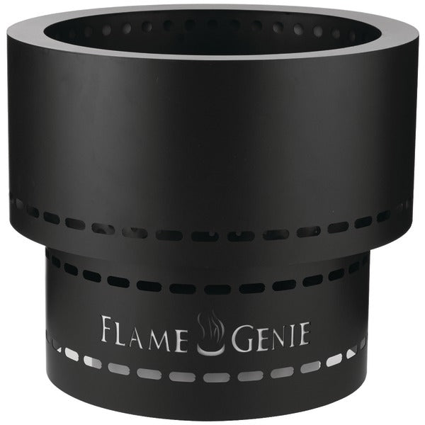 Flame Genie INFERNO® Wood Pellet Fire Pit (Black) FG-19