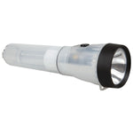 LifeGear 50-Lumen AR-Tech Flashlight & Lantern LG02-60160-WHI