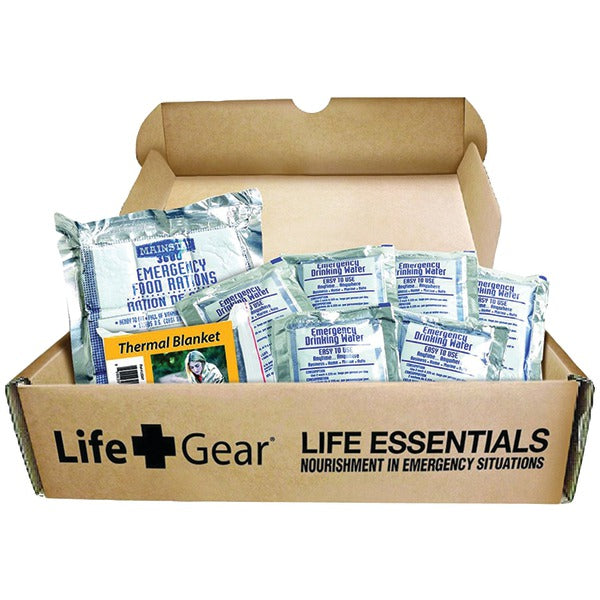 LifeGear Life Essential 72-Hour Food & Water Kit LG329
