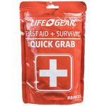 LifeGear 88-Piece Quick Grab First Aid & Survival Kit - 41-3819