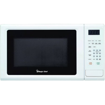 MAGIC CHEF MCM1110W 1.1 Cubic-ft, 1,000-Watt Microwave with Digital Touch (White)